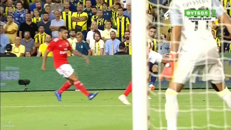 Fenerbahçe vs Benfica 1-1 Maç Özeti Champions League (14-08-2018 )_Full-HD