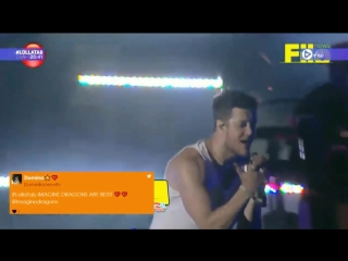 Imagine Dragons вживую исполнили песню Believer (Lollapalooza Argentina 2018)