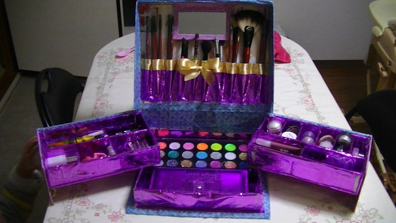 Manualidades Caja Organizadora De Maquillaje - JuanCarlos960