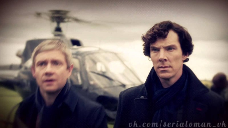 Заставка сериала «Шерлок / Sherlock»