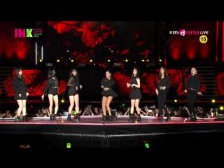 CLC - Black Dress @ 2018 INK Incheon K-Pop Concert 180901