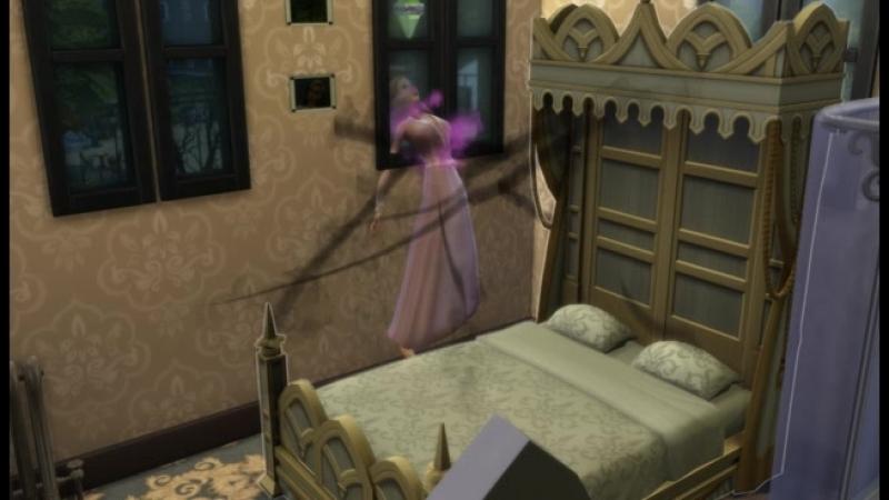 Превращение в вампира Симс 4