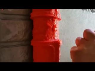 Валик, имитирующий кирпичную кладку