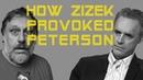 How Slavoj Zizek provoked Jordan Peterson