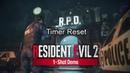 How to reset Resident Evil 2 - 1 shot timer (Steam)