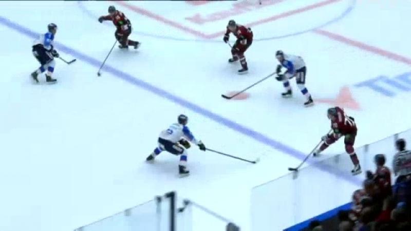 Latvijas hokeja izlase pārbaudes spēlē viesos piekāpjas arī slovākiem Raksts.mp4