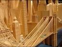 Google Карты, Сиэтл США. Строительство высотки из палок и фанеры.