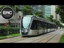 Tramways Metro of Rio / Tranvías y Metro de Río de Janeiro (HD)