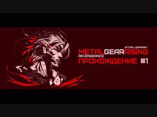 Игорь Джаман : Metal Gear Rising - Revengeance часть #1 ( Время Кибер Самураев )