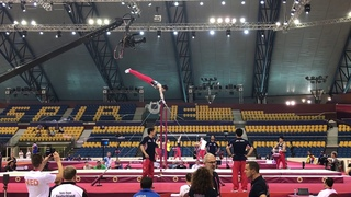 Kohei Uchimura 2018 Worlds Podium Training
