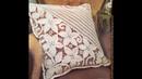 Tığ işi Dantel örgü yastık kırlent modelleri Crochet