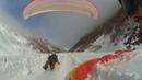 Приземление на параплане в каньон Арагви с Анатолием Гудаури С командой SkyAtlantida landing gudauri paragliding полет гудаури ب