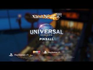 Pinball FX2 VR - Universal Classics Pinball Launch Trailer ¦ PS VR