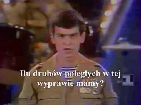 Igor Morozow, Grupa Kaskad - Żegnajcie góry (Afganistan, сzerwiec 1988 r.) - polskie napisy