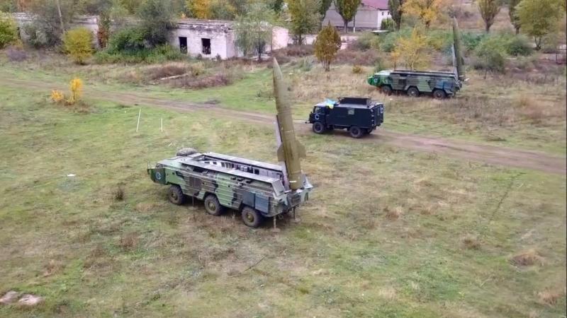 Навчання підрозділу ракетників в районі відведення .