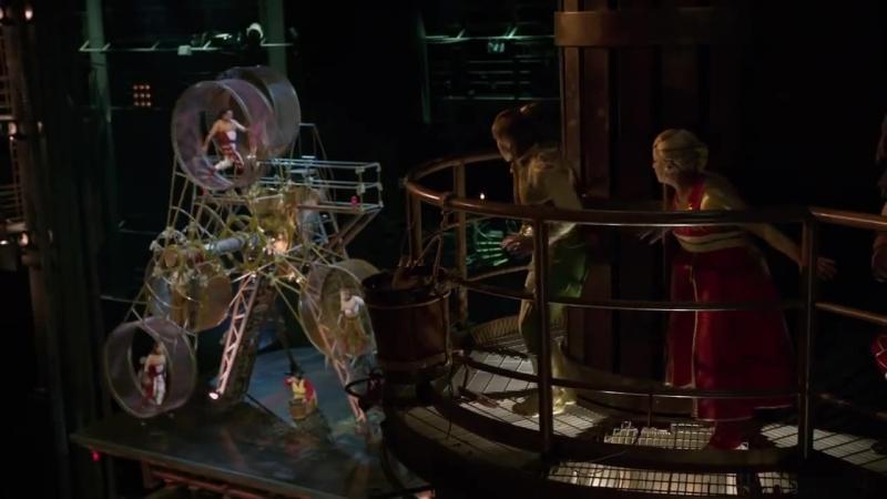 Cirque du Soleil Worlds Away 2012 - Acrobats