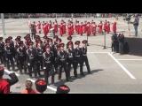 Парад казаков 21.04.18 Краснодар.Школа 13. г. Хадыженск