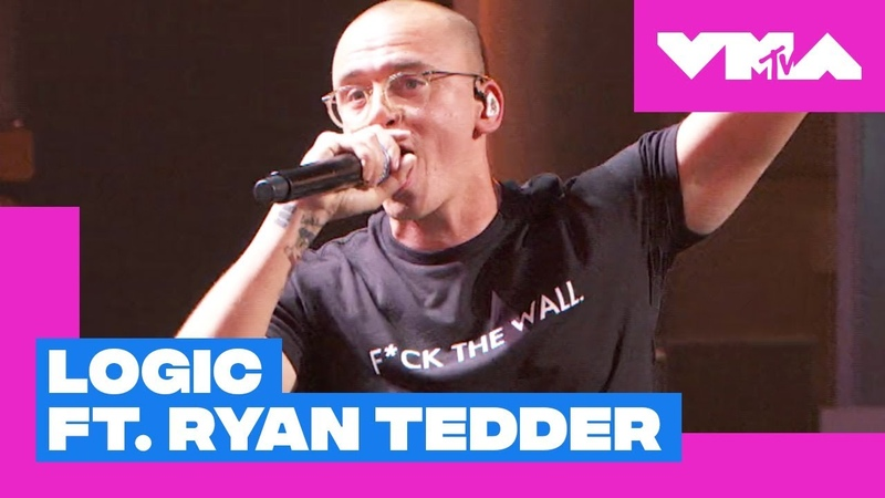 Logic ft. Ryan Tedder Performs 'One Day'   2018 Video Music Awards