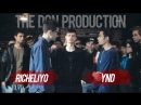 Подготовка VS Фристайл THE DON PRODUCTION Richeliyo VS YND