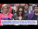 Rep. Maloney, Alyssa Milano and women's rights activists rally for Equal Rights Amendment | 4.06.2018