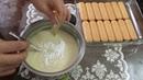 Турецкий торт Кошачий язык без выпечки с печеньем и заварным кремом Kedi Dili Tatlısı Nasıl Yapılır Gülün Tarifleri