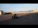 Gymkhana GP Stage 6/ Kudryavtsev Victor/Honda Hornet600/heat 1/01:00.96