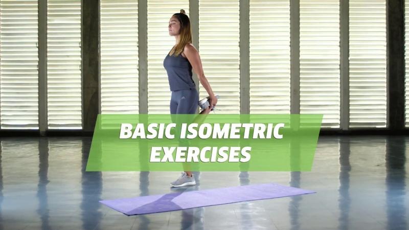 Basic Isometric Exercises For Begginers
