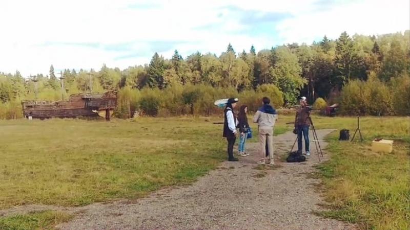 Уютная Осень в Пилигрим Порто. Москва. Джек Воробей и Анжелика Тич. Снимаем Кино.🎬🎥😍