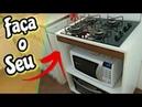 🔥ECONOMIZEI 500 reais fazendo para FOGÃO COOKTOP um balcão RÁPIDO, FÁCIL E BARATO...