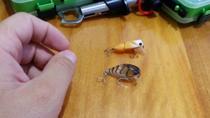 Видеообзор 2х SSR кренков для ловли белого хищника Jackall Chubby и Daiwa Cicada по заказу Fmagazin