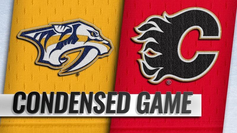 10/19/18 Condensed Game: Predators @ Flames