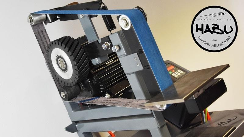 HABU \\ Building The Ultimate Foldable BeltGrinder