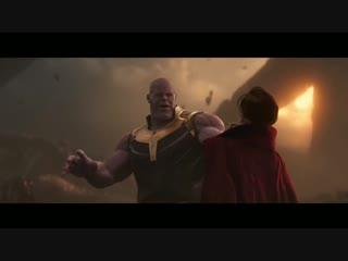 MU Fragments: «Мстители: Война Бесконечности» — Доктор Стрендж против Таноса.