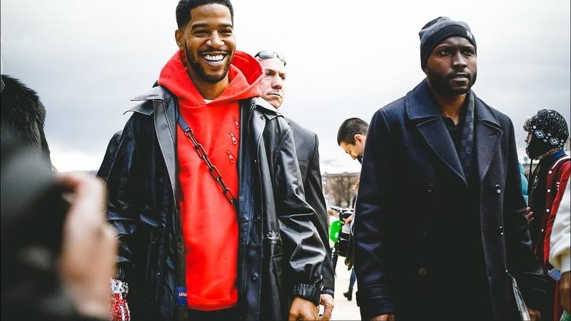 Paris Fashion Week Men's FW 2019 - Street Style at Louis Vuitton show