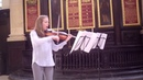 Intertwined for singing solo viola by Caroline Bordignon