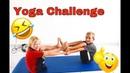 ЙОГА ЧЕЛЛЕНДЖ. МАЛЬЧИКИ ПРОТИВ ДЕВОЧЕК. Yoga for kids