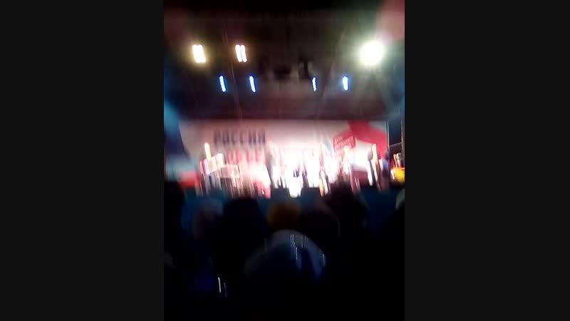 Дмитрий Маликов Ты Одна Такая Нижний Новгород Площадь Минина и Пожарского 4 11 18