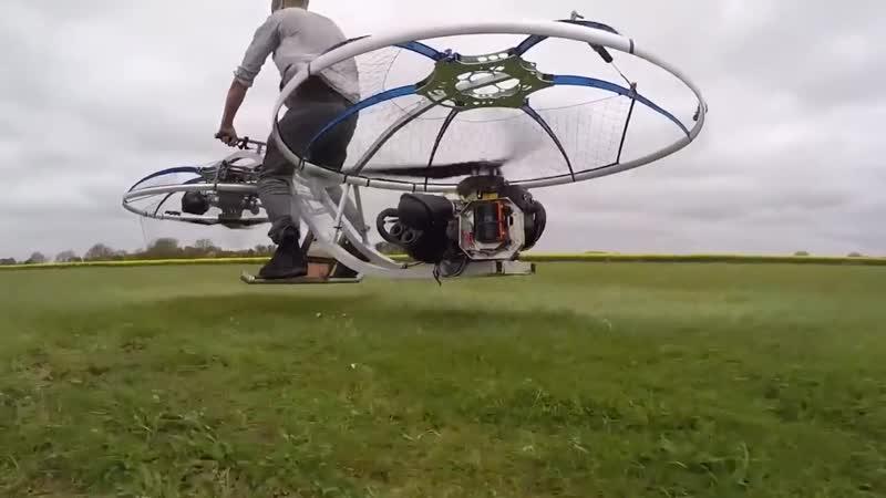 Летающий мотоцикл - Невероятные изобретения сделанные в домашних условиях