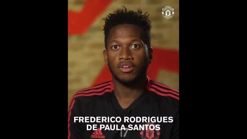 Фред произносит свое имя