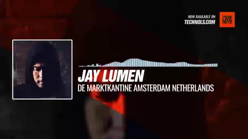 @JayLumen De Marktkantine Amsterdam Netherlands Periscope Techno music