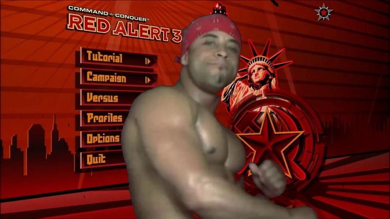 Рикардо Милос решил поиграть в CC Red Alert 3