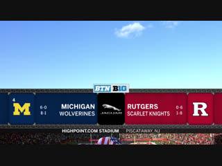 NCAAF 2018 / Week 11 / (4) Michigan Wolverines - Rutgers Scarlet Knights / EN