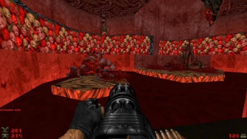 2002 A Doom Odyssey   E3M5: Blood and Guts [Brutal Doom: Black Edition v3.1d]