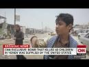 La bombe qui avait tué 40 enfants au Yémen était fabriquée aux États-Unis