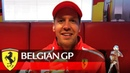 Belgian Grand Prix - Sebs message for you!