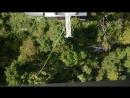 КРУТО Прыжок с подвесного моста 200 м. Скайпарк Адлер-2018.