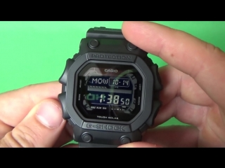 Обзор CASIO G-SHOCK GX-56BB-1D _ Где купить со скидкой