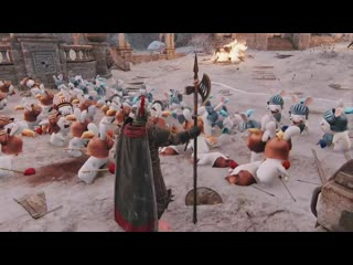 For Honor - April Fools Minions as Rabbids