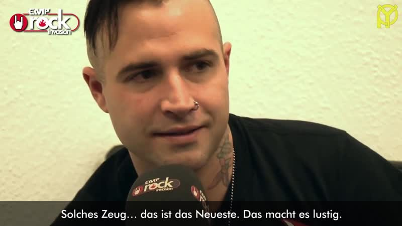 Johnny Christ о стриптиз-клубах, критике и т.д. (2013), с переводом