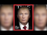 Donald Putin. Time magazine cover Обложка Тайм. Дональд Путин
